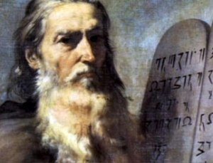 moses and then ten commandments